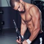 cviky na triceps - kladka