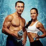 Muž a žena fitness