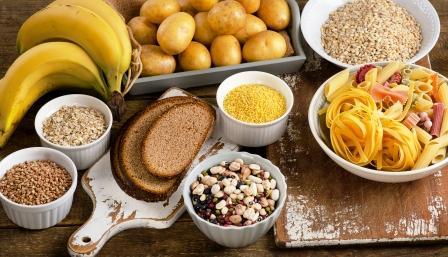 sacharidy, potraviny s vyšším obsahom sacharidov