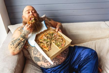 tučný muž