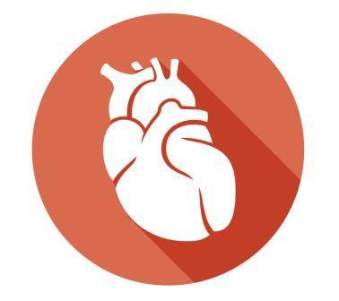 kreslené srdce